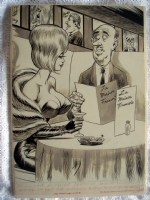 Bill Ward-Mastered Every Tongue But Wife's!-bigger pic Comic Art